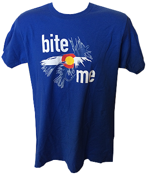 Bite Me Colorado Flag Shirt