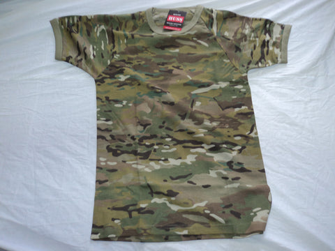 Multi Cam Military T-Shirts