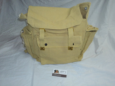 Khaki Multi Pocket Backpack