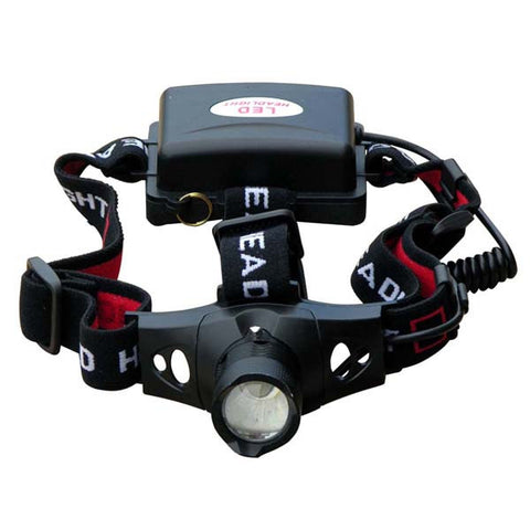 High Performance Headlamp with AA Batteries