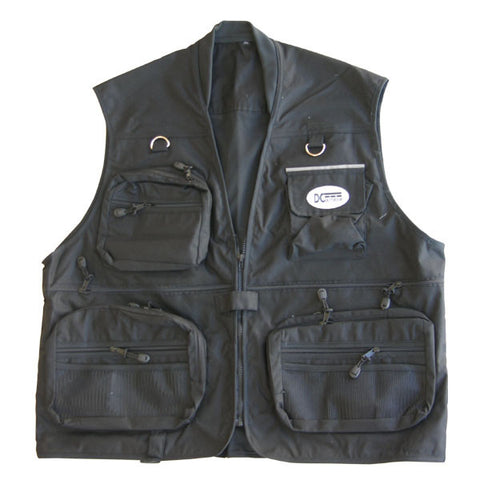 Black Hunting & Fishing Vest