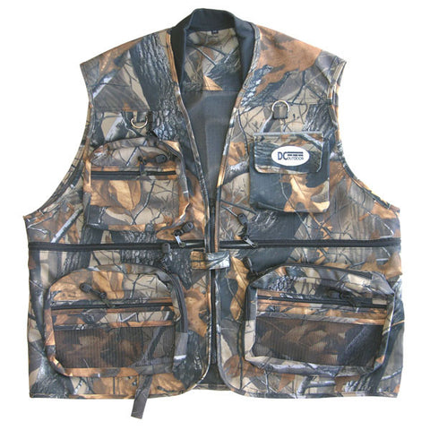 Real Tree Camouflage Hunting & Fishing Vest