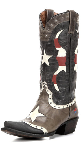 WOMEN'S REDNECK RIVIERA CLEARWATER BOOT - AGED GRAY & BLACK