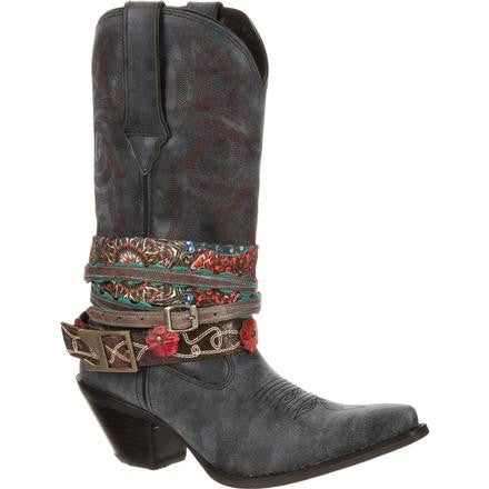 Crush by Durango Women's Accessorize Western Boot