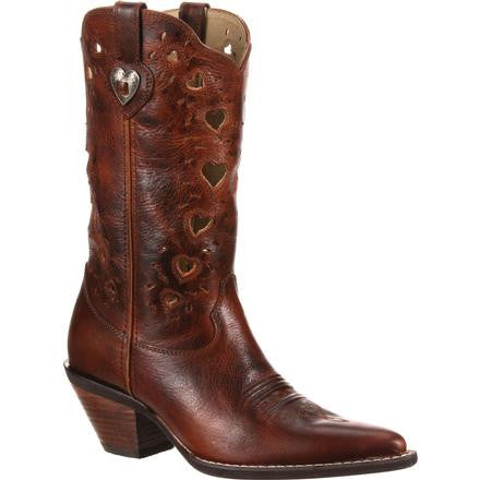 Crush by Durango Women's Brown Heartfelt Western Boot