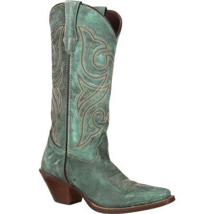 Crush by Durango Women's Marbled Turquoise Western Boot