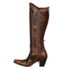Double D Ranch Boots - Domingo Fringed Boot Brown
