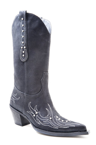 ROPER LADIES  BOOT FASHION WESTERN - FAUX LEATHER BOOTS