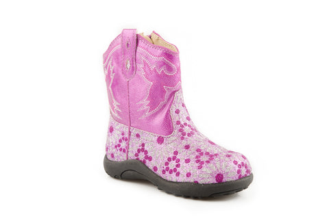 ROPER INFANT  BOOT CHUNK FAUX BLING - RIDERLITE2 BOOTS