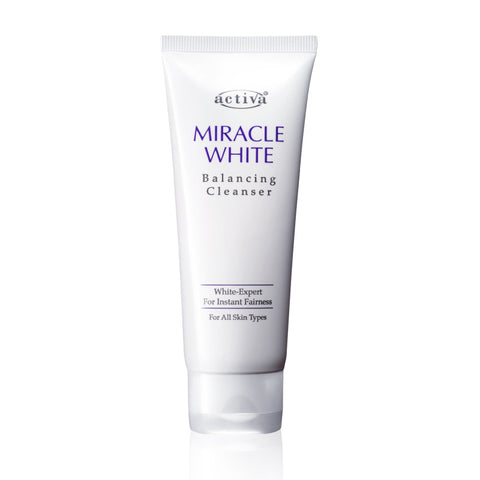 Activa Miracle White Balancing Cleanser 100ml