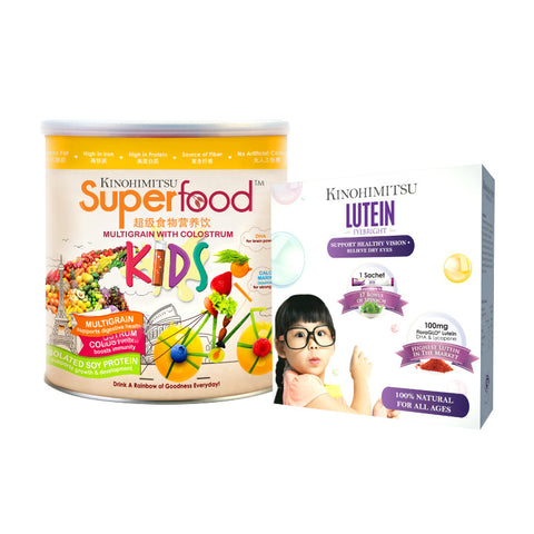 Superfood Kids 500g + Eyebright Lutein 15's