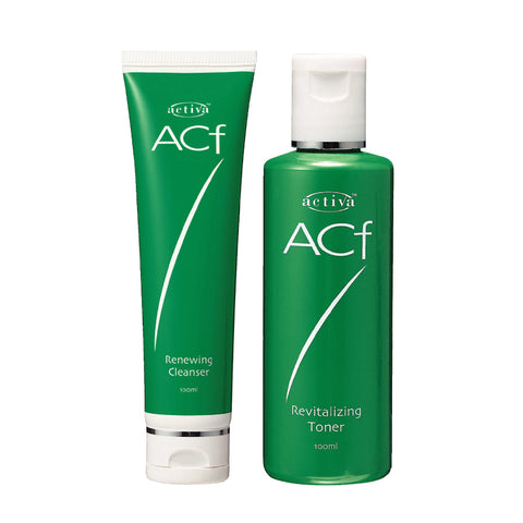 Activa ACF Renewing Cleanser 100ml & Revitalizing Toner 100ml