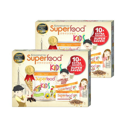 BUY 1 FREE 1 Superfood + Kids 500g with 10 Sachets [Advanced Formula]