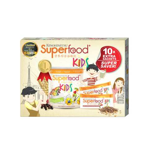 Superfood + Kids 500g with 10 Sachets [Advanced Formula]