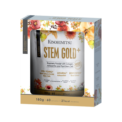 Stem Gold+ [FREE Cosmetea Clarifying Jelly Foam Cleanser 120ml]