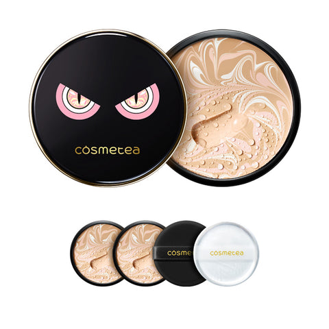 Cosmetea Milk Tea EE Cream Foundation Pact [FREE Face Roller]