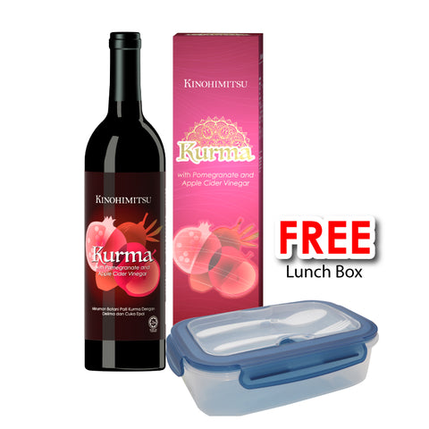 Kurma with Pomegranate & Apple Cider Vinegar (750g) [FREE Lunch Box]