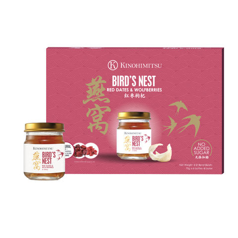 Bird's Nest with Red Dates & Wolfberries 6's