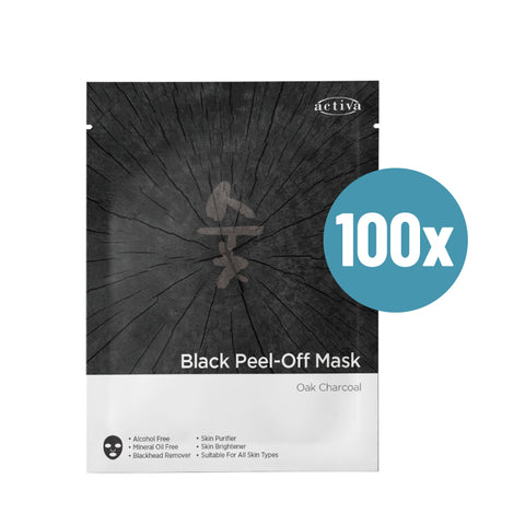 Activa Miracle White Black Peel Off Mask 100's [Exp: 4/2021]