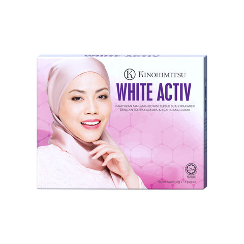 White Activ 15's [New Packaging]
