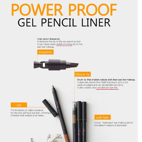 Fascy Power Proof Gel Pencil Liner [2 Color Available]