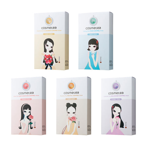 Cosmetea Control Mask 10pcs [5 Types]