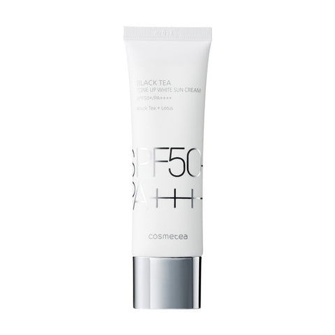 Cosmetea Black Tea Tone-Up White Sun Cream 50ml (SPF50+/PA++++)