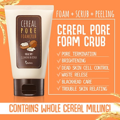 SOME BY MI Cereal Pore Foam Crub 100ml