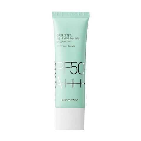 Cosmetea Green Tea Aqua Mint Sun Gel 50ml (SPF50+/PA++++)