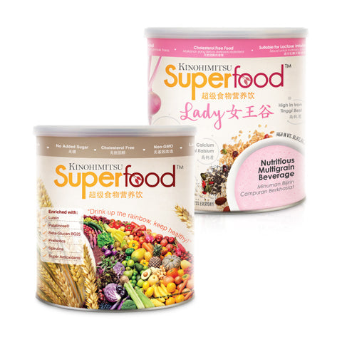 Superfood 500g + Superfood Lady 500g