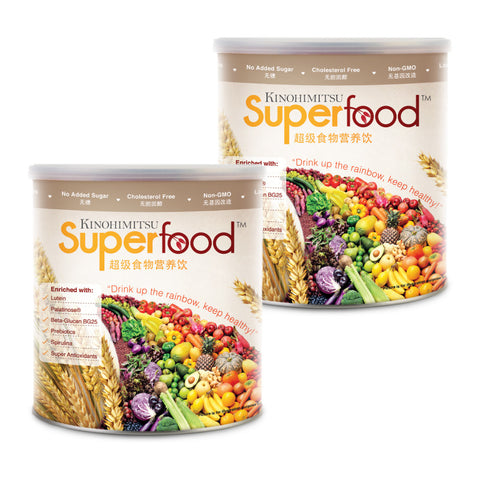 Superfood 500g x 2 [FREE Foot Patch 2's x 2]
