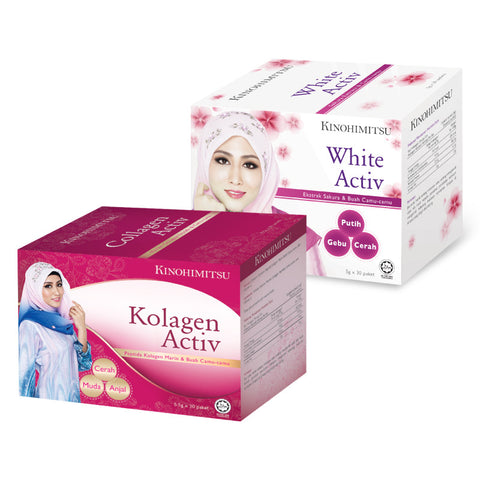 White Activ 30's + Collagen Activ 30's