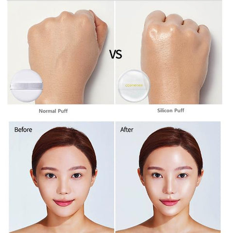 Cosmetea Milk Tea EE Cream Foundation Pact [FREE Face 4D Roller]