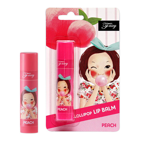 Fascy Lolli Pop Lip Balm 3.9g [Peach]