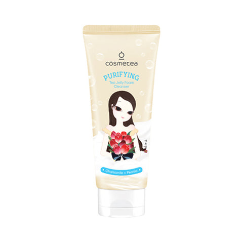 Cosmetea Tea Jelly Foam Cleanser 120ml (Control Series)