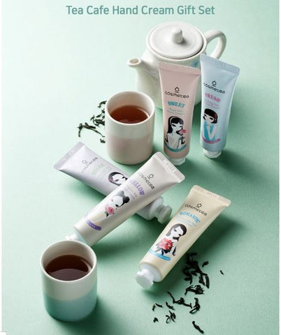 Cosmetea Tea Cafe Hand Cream Gift Set (5 pcs)