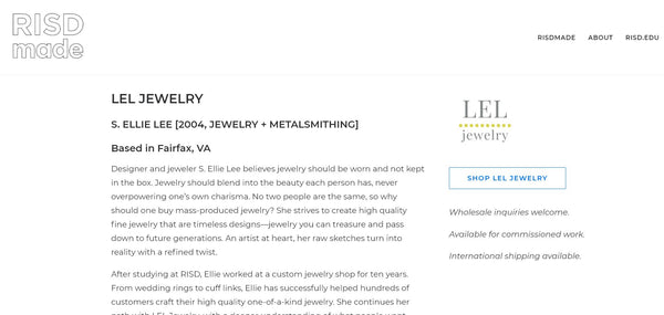 LELJEWELRY on RISDmade.com