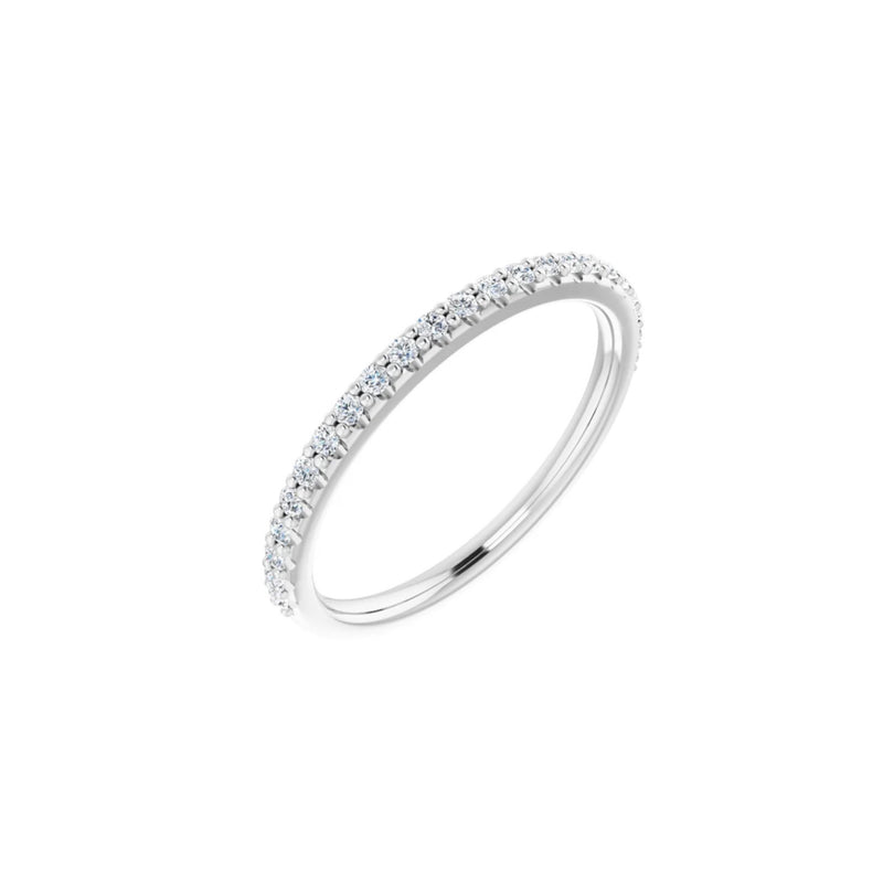 Curated Essential Diamond Bead Set Band