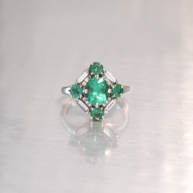 Emerald Ring Wishlist - LEL JEWELRY