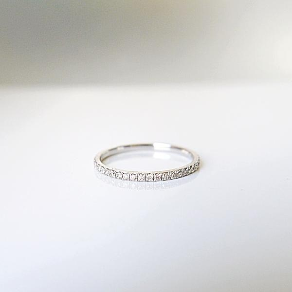 Micropave Diamond Eternity Band - LEL JEWELRY