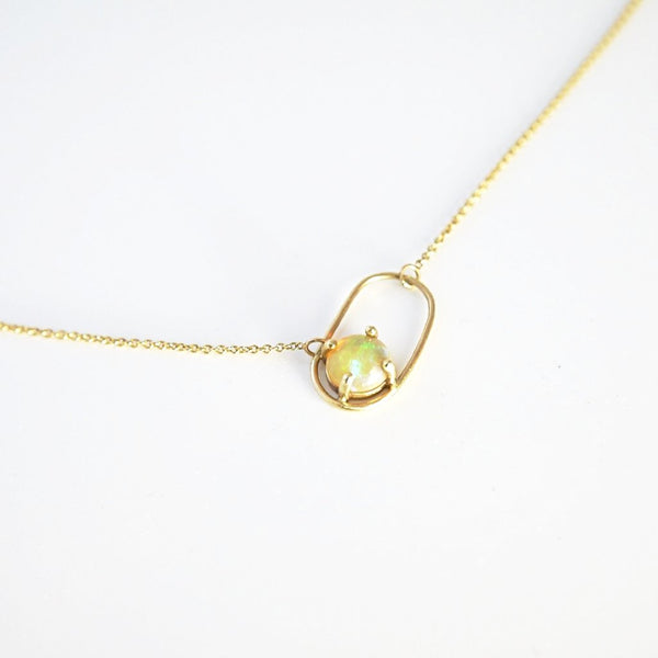 'O' Opal Necklace