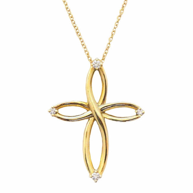 Infinite Cross Pendant - LEL JEWELRY