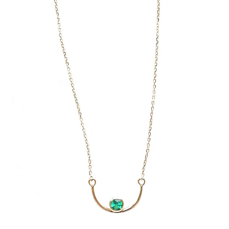 U Smile Gold Necklace - LEL JEWELRY  - 2