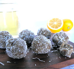 Coconut Lemon Bliss Balls