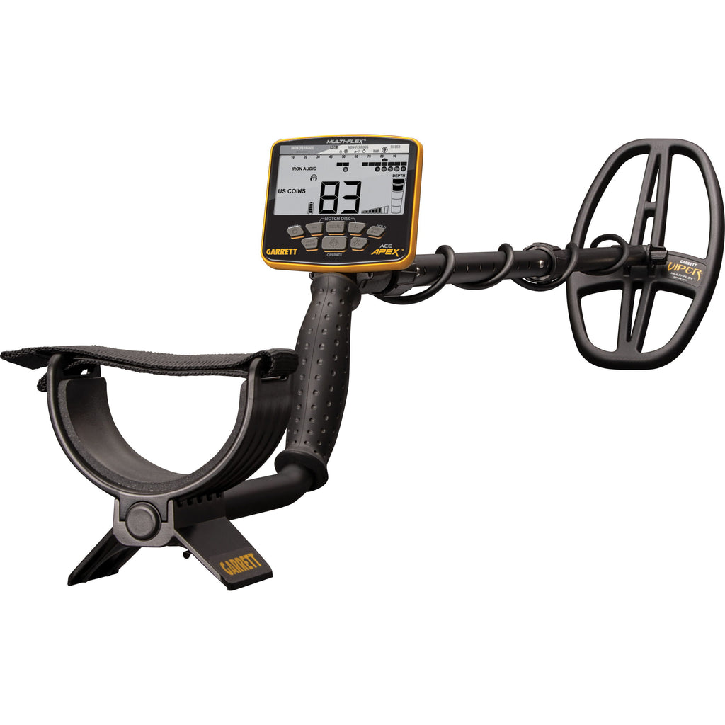 NEW GARRETT MULTI-FREQUENCY METAL DETECTOR . Garrett Ace Apex