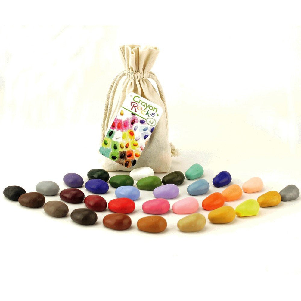 Crayon Rocks: 32 Pack in a Bag