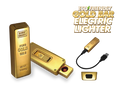 GOLD BAR USB flameless lighter
