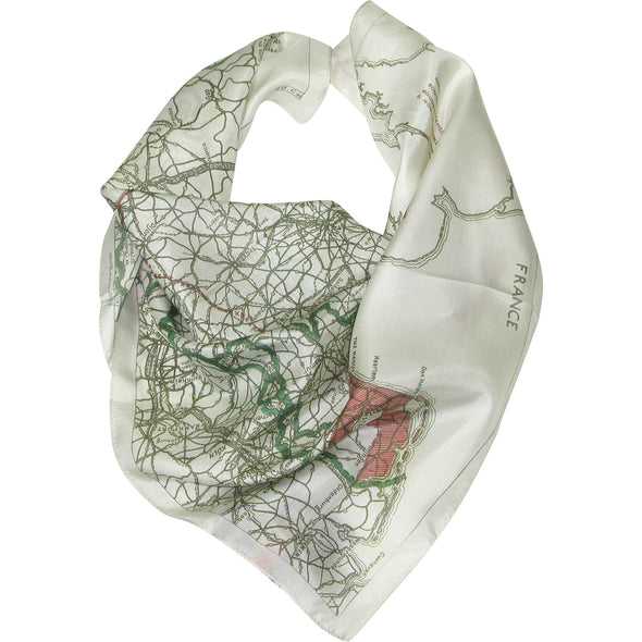 IWM Silk Escape Map Scarf