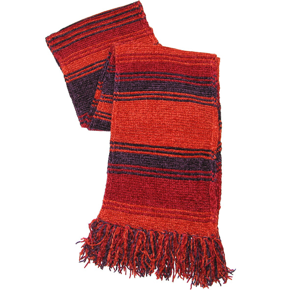 4th doctor season 18 scarf burgundy short