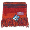 Tom Baker Season 18 Scarf Burgundy - 4th Doctor Scarfs